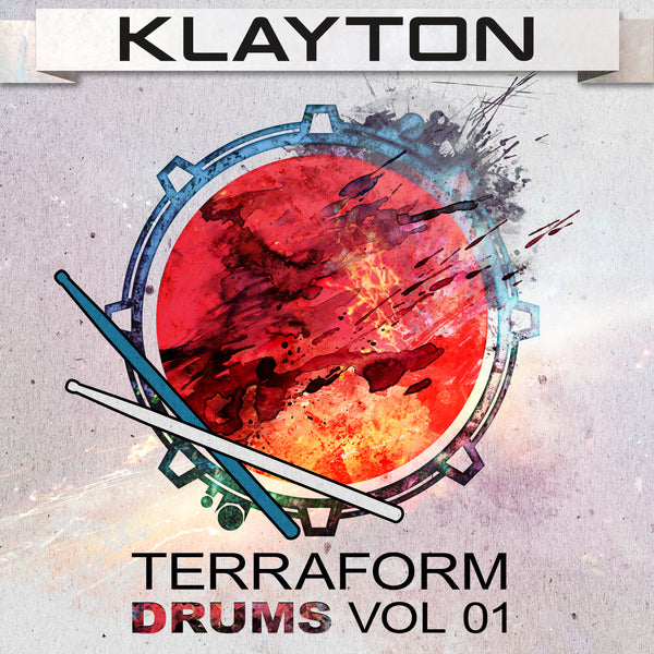 Klayton - Terraform Drums Vol. 01 (Digital Album)