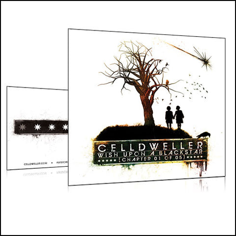 Celldweller - Wish Upon A Blackstar Chapter 01 Vinyl Sticker