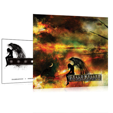 Celldweller - Wish Upon A Blackstar Chapter 03 Vinyl Sticker