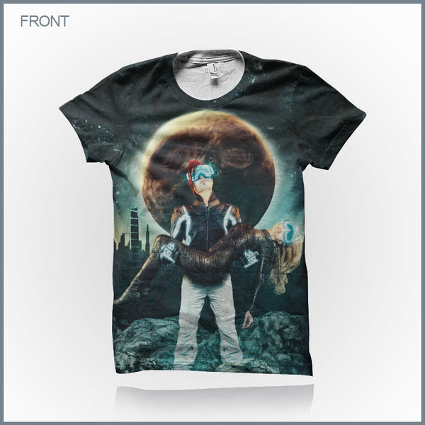 Celldweller - Wish Upon A Blackstar [Standard Edition] Cut & Sew All-Over Print T-Shirt