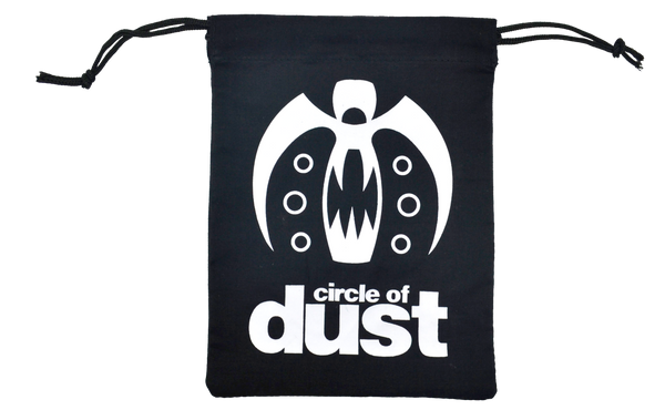 Circle of Dust - Canvas Drawstring Bag