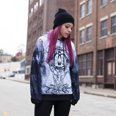 Circle of Dust - Phoenix Logo Cut & Sew All-Over Print Hoodie