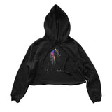 "The Anix  - ""Levitate"" Girls Crop Hoodie (SALE ITEM)"