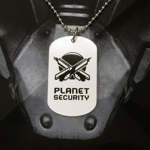 Outland - Planetary Security Dog Tag