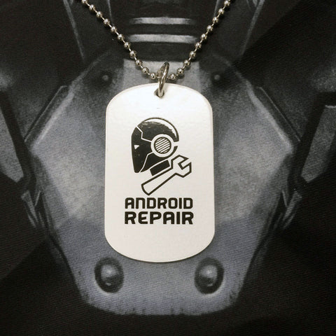 Outland - Android Repair Dog Tag