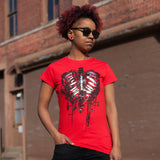 Celldweller - Plated Pulmonary System T-Shirt [Women's Cut]