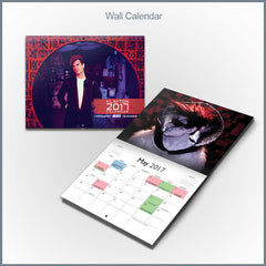 Klayton - 2017 Wall Calendar (Celldweller, Circle of Dust, Scandroid)