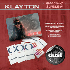 Klayton Accessory Bundle 01 (Celldweller / Scandroid / Circle of Dust)