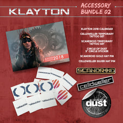 Klayton Accessory Bundle 02 (Celldweller / Scandroid / Circle of Dust)