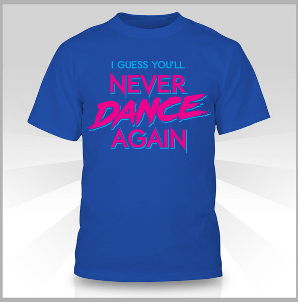 Sunset Neon - Never Dance Again T-Shirt