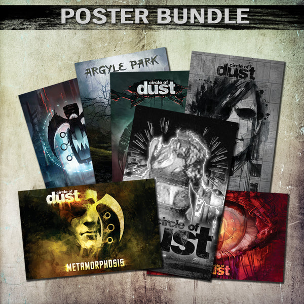 Circle of Dust - [COMPLETE POSTER BUNDLE]
