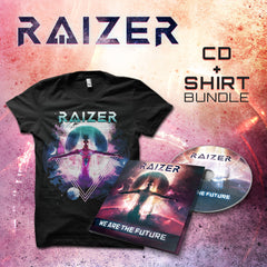 Raizer - We Are The Future CD+SHIRT BUNDLE