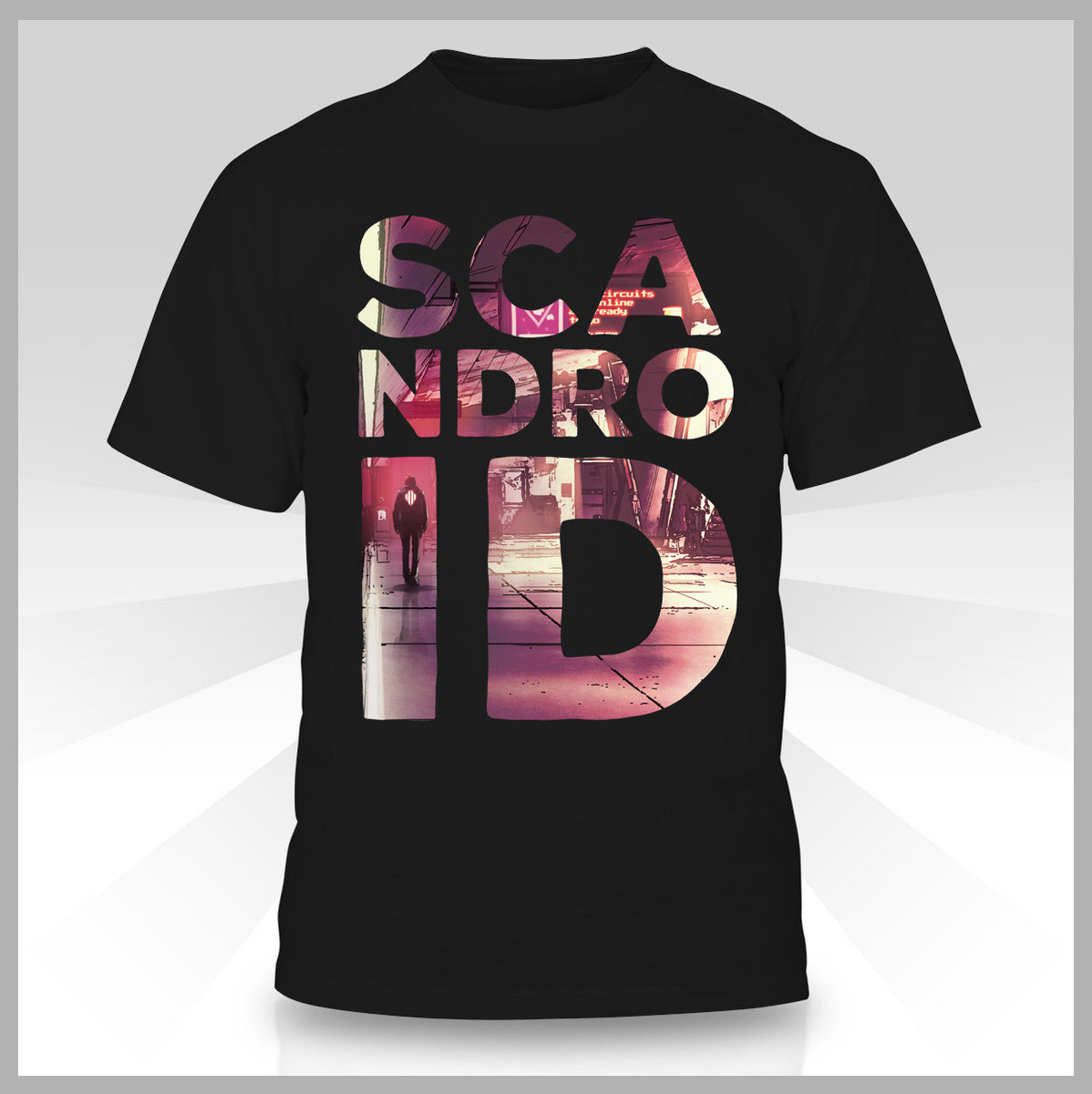 Scandroid - New York City Nights T-Shirt – FiXT Store 86d15c0457f