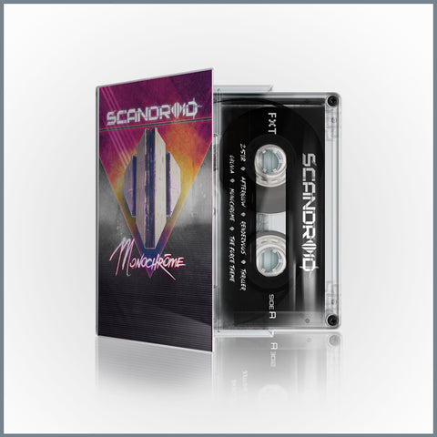 Scandroid - Monochrome Limited Edition Cassette