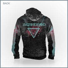 Scandroid - Cybernetic Connection Zip-Up Hoodie