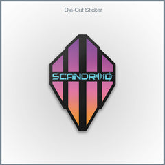 Scandroid - Logo Die Cut Vinyl Sticker
