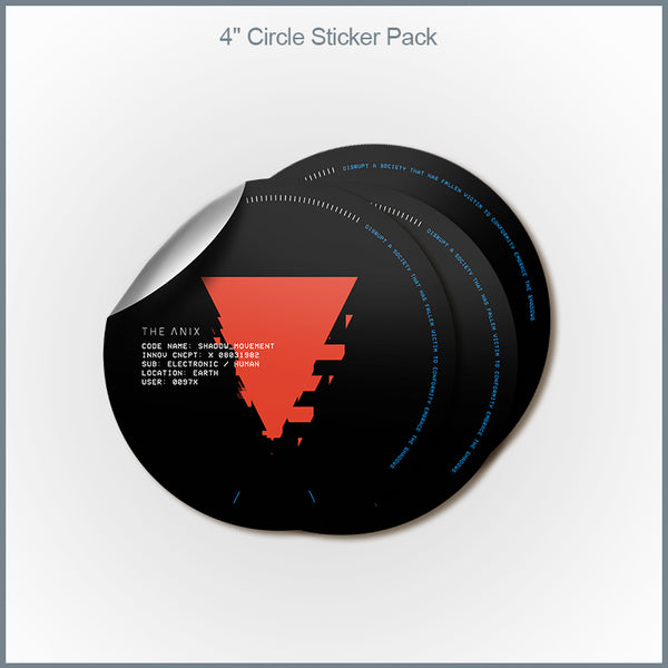 The Anix - X08031982 Vinyl Sticker Pack