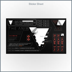 The Anix - This Machine Sticker Sheet
