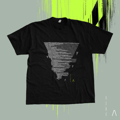 The Anix - GLITCH TRIANGLE 2.0 T-Shirt