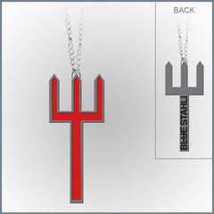 Blue Stahli - Pitchfork Necklace