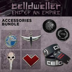 Celldweller - End of an Empire Accessories Bundle