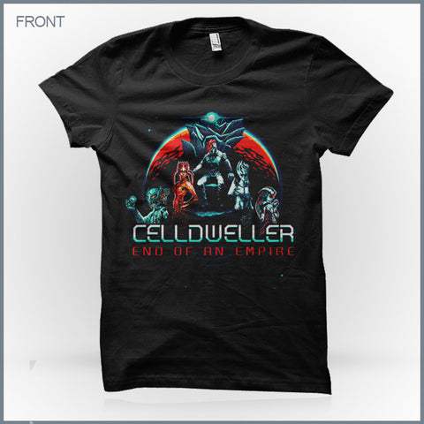 Celldweller - G4M3 0V3R (Men's & Women's) T-Shirt