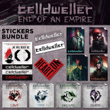 Celldweller - End of an Empire Sticker Bundle