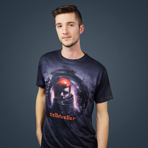 Celldweller - Unmasked (2-Sided All-Over-Print) T-Shirt