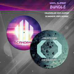 Celldweller/Scandroid - Vinyl Slipmat Bundle