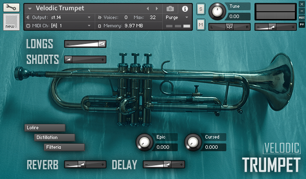 Velodic - Trumpet 1.0 (Sample-Based Instrument)