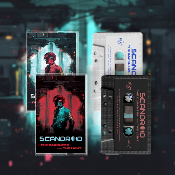 Scandroid - The Darkness and The Light - Limited Edition Cassette Bundle