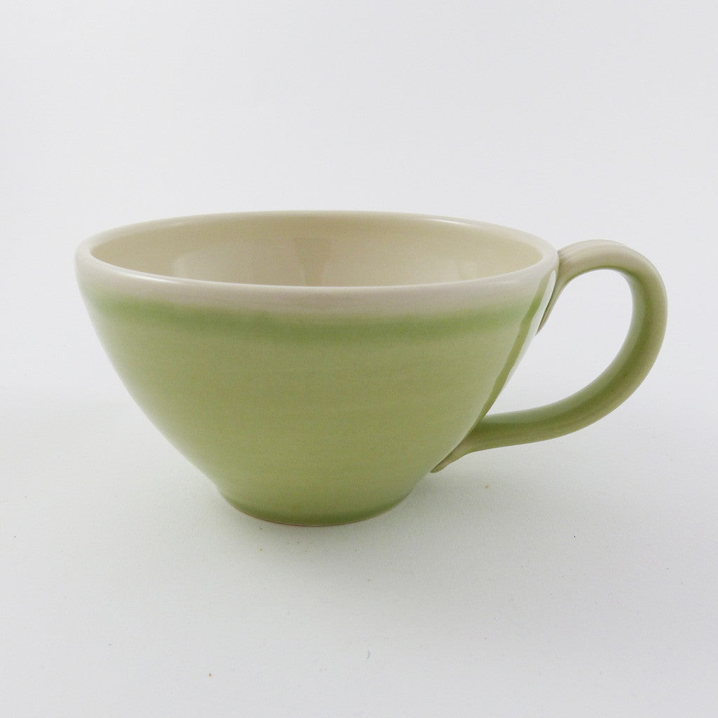 Latte Cup, Pale Green
