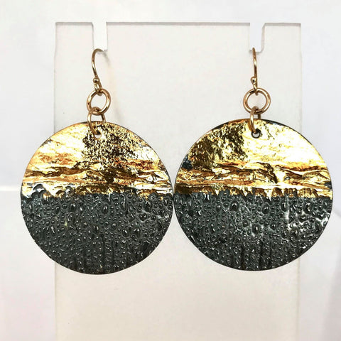 Gong Earrings