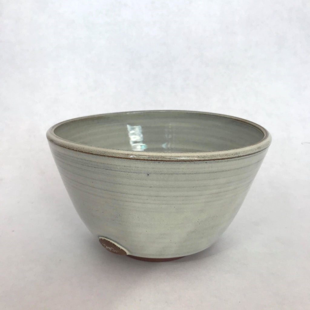 Grey Bowl w/ Rabbit Motif- Medium
