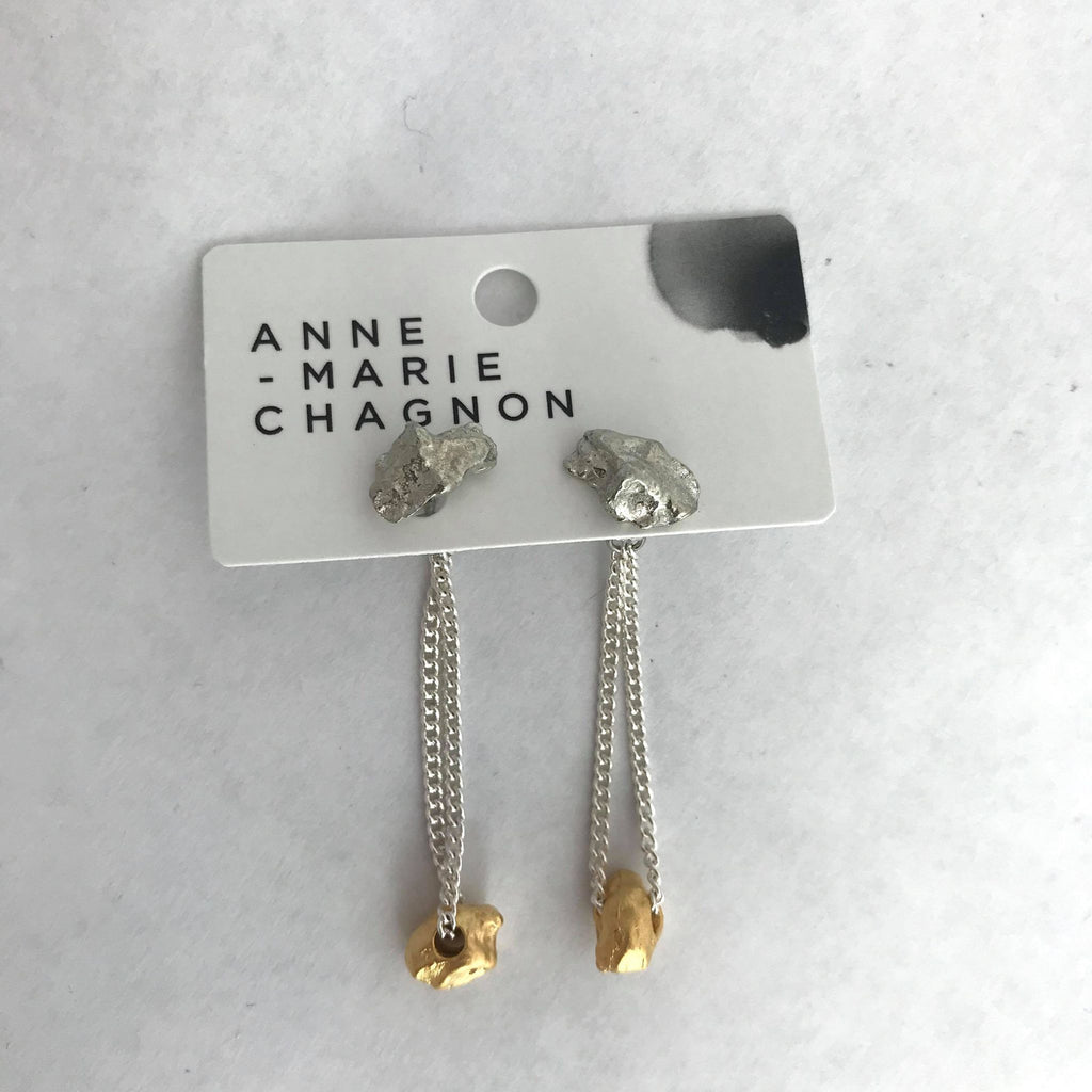 Cameron Earrings- Gold