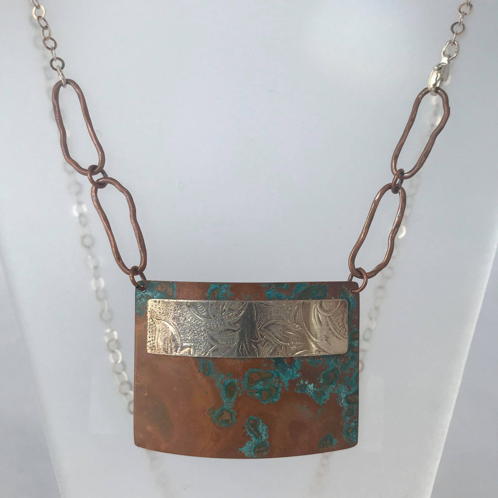 Earth Collection:  Copper Necklace