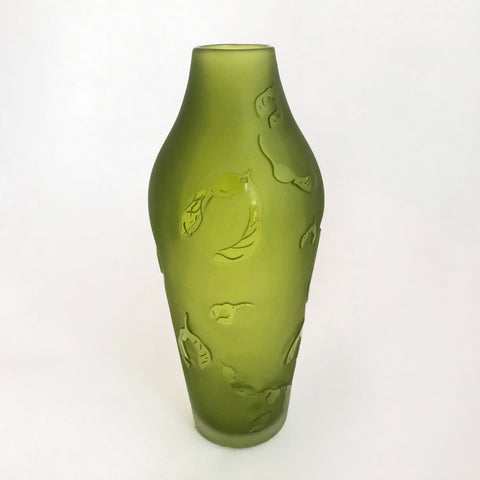 Maple Key Vase- Moss Green