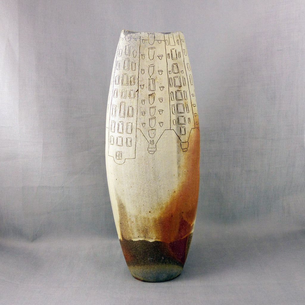 Woodfired Tall Vase