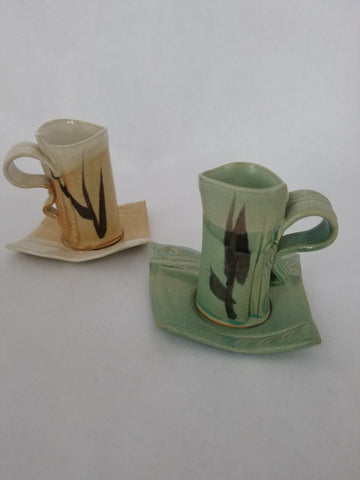 Demi Cup and Saucer Set