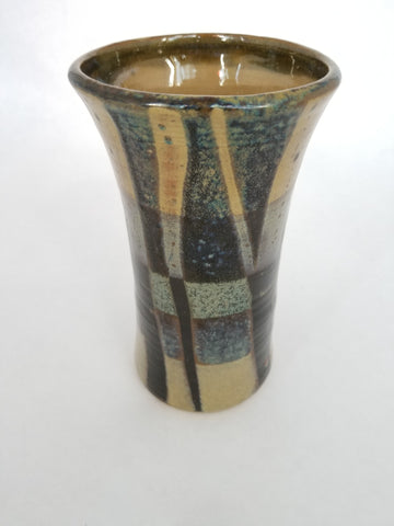 Vase - Medium, Blue-Brown