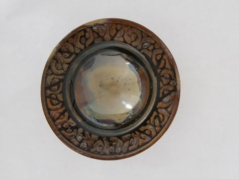 Bowl - Small, Rim Decoration