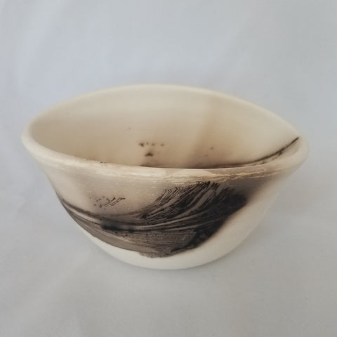 Feather Bowl, Boat-shaped- Small