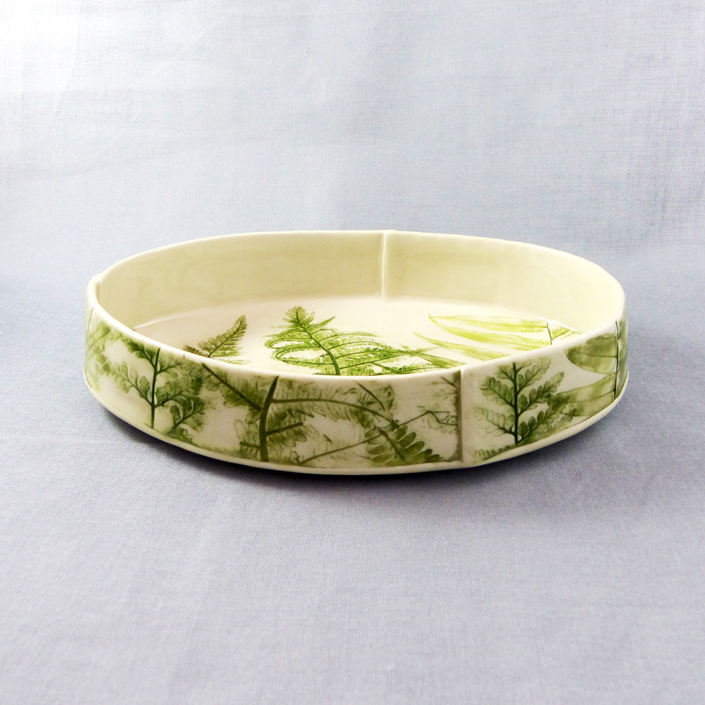 Fern Bowl (L, Oval)
