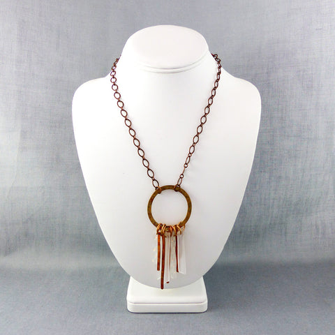 Keys to the Greenhouse, Copper Necklace