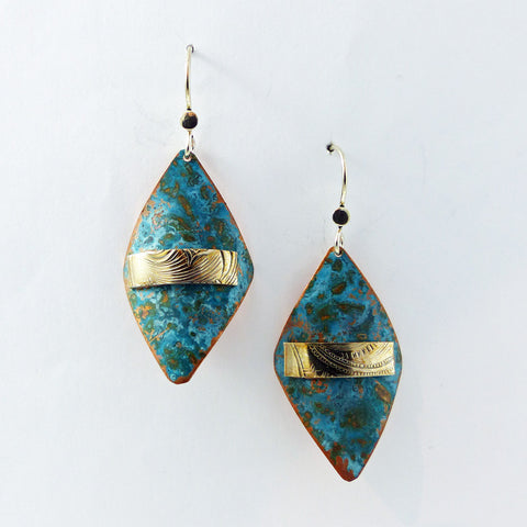 Earrings, Earth Collection