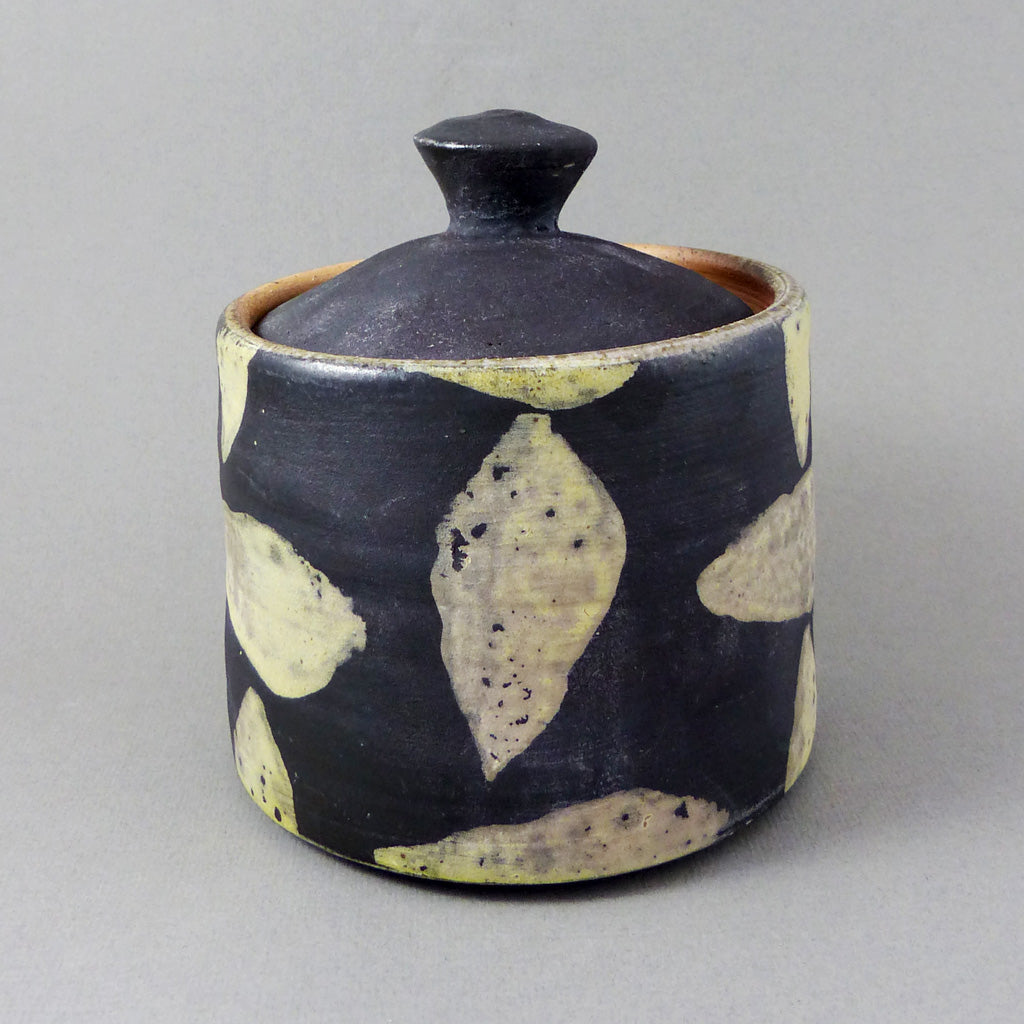 Lidded Jar (Patterned)