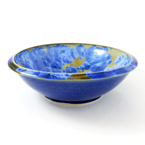 Crystalline Bowl (M), Blue