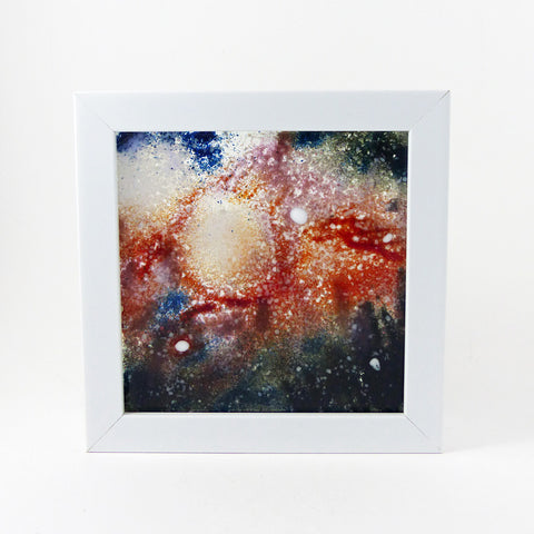Nebula Tiles, Framed