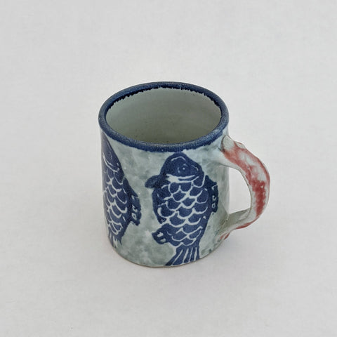Mug with Fish Handle