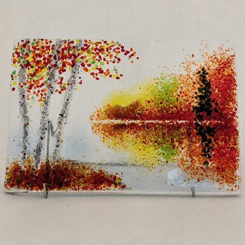 "Fall Reflections 6"" x 4"""